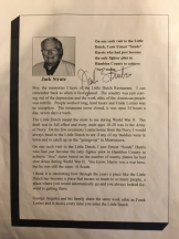 Letter from Jack Strate