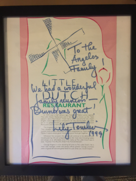 Lily Tomlin visits the Little Dutch